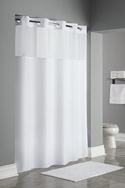 Trendy Linens Hookless Shower Curtain with Detachable liner