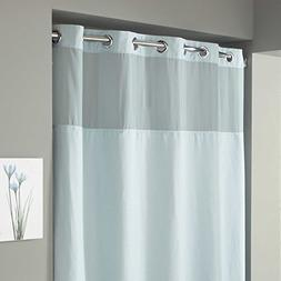 "Hookless Waffle Fabric Shower Curtain - Size : 54"" X 80"" - C"