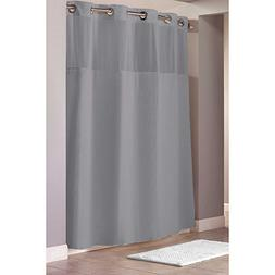 "Hookless Waffle Fabric Shower Curtain - Size : 71"" X 86"" - C"