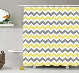 horizontal chevron zigzag pattern shower