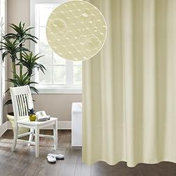 ALDECOR Hotel-Style Fabric Shower Curtain - Top Grommet Grad