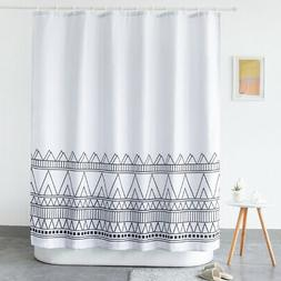 "Hotel Quality Fabric Shower Curtain Variable Sunflow 72""X72"""