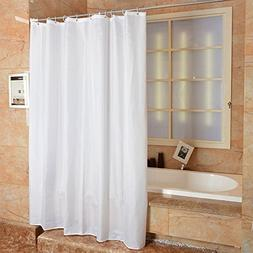 Uforme Large Size Hotel Shower Curtain Polyester No More Mil