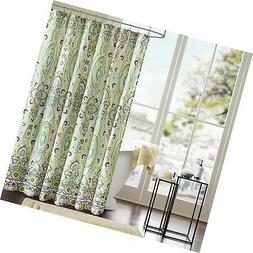 Intelligent Design ID70-284 Tasia Shower Curtain 72x72 Green