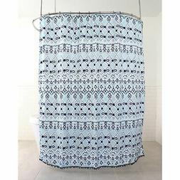 inca polyester fabric shower curtain 70 x