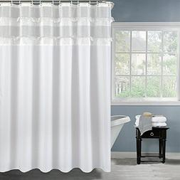ALDECOR Large Size 72 Inch Wide by 80 Inch Long Bathroom Cur