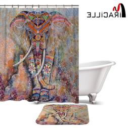 Miracille Indian Colorful Elephant Printed Waterproof <font>