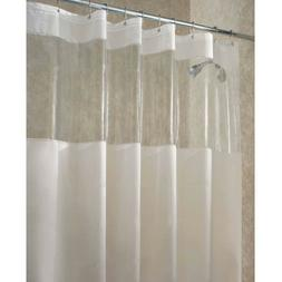 "InterDesign Hitchcock EVA Shower Curtain, Standard 72"" x 72"""
