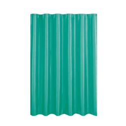 Jane Faux Silk 70 In. W X 72 In. L Shower Curtain With Metal