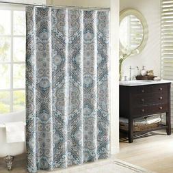 "Josephine Shower Curtain Blue 72x72"""