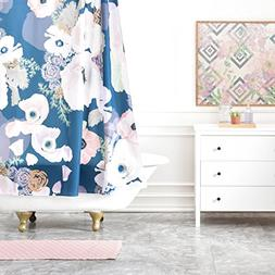 Deny Designs Khristian A Howell Une Femme in Blue Shower Cur