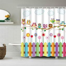 Kids Cartoon <font><b>Shower</b></font> <font><b>Curtain</b>