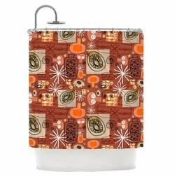 East Urban Home Kitchen Single Shower Curtain