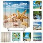 1 x Custom Funny Bathroom Shower Curtain Polyester Fabric Wa