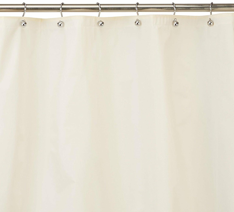 Carnation Home Fashions 10 Gauge Peva Shower Curtain Liner C