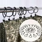 10pcs Stainless Steel Hook Metal Rings Clips with Eyelets Fo
