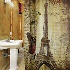 180 x180cm waterproof polyester shower curtain retro
