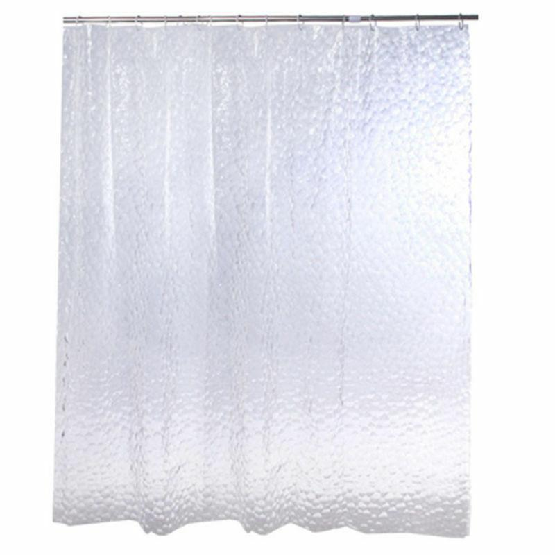 3D Water Design Shower Curtain Bathroom Waterproof