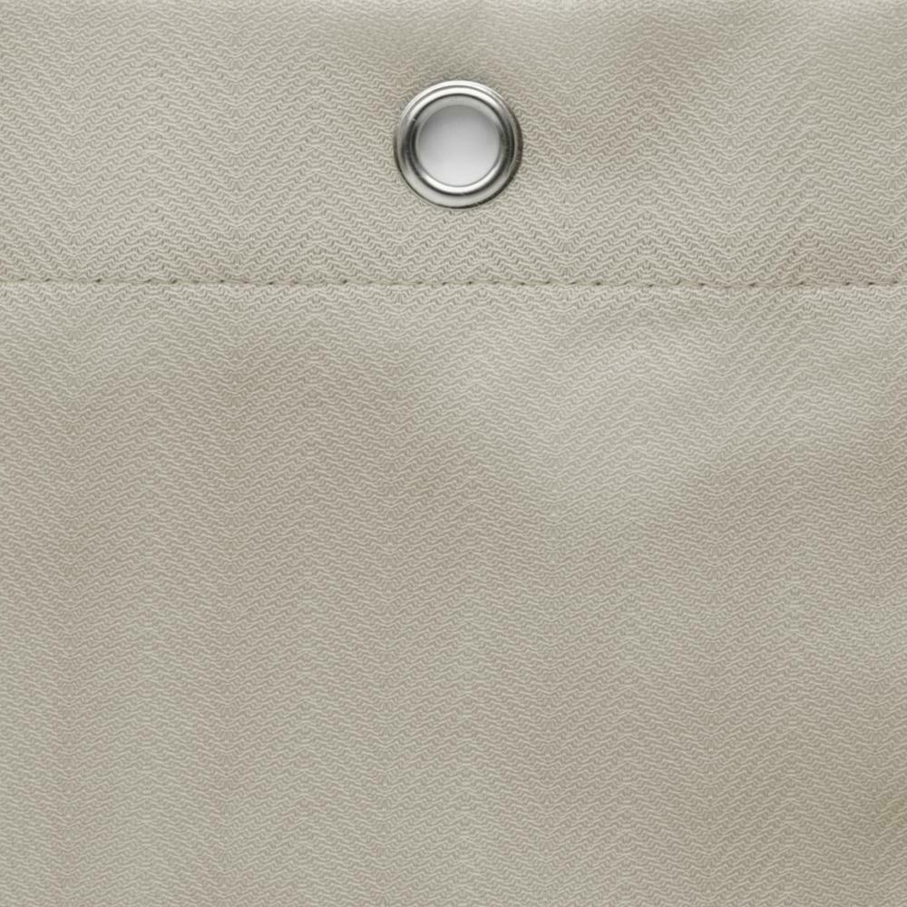 Maytex 70 in. x in. Herringbone Fabric Shower Curtain