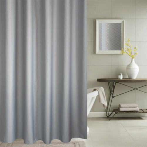 Premium Fabric Shower Liner Hook Set Waterproof