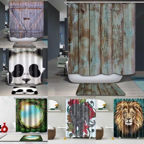 71 waterproof fabric bath bathroom shower curtain