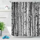 71'' Waterproof Shower Curtains Bathroom Accessories Birch T