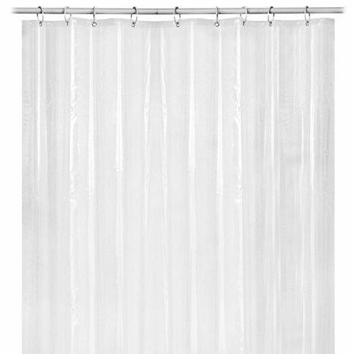 72 inch Water Bathroom Curtain 12 Hooks with