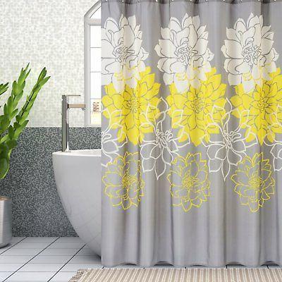 72X72 Waterproof Polyester fabric Shower Curtain Bathroom Ba