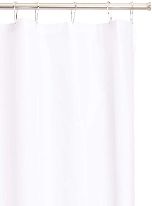 96-Inch Extra Long Shower White New