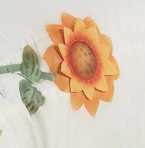 Sunflower Shower Curtain Liner and 12-Hook Set