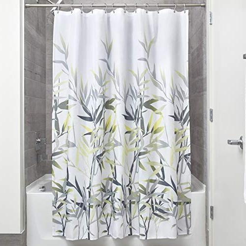 InterDesign 36526 Anzu Fabric Shower Curtain  - Standard, 72