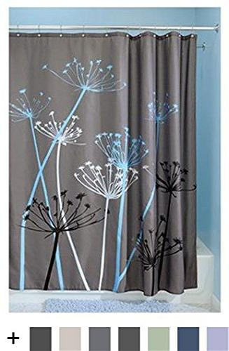 InterDesign Thistle Shower Standard - Gray Blue