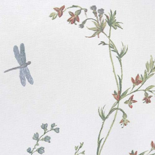 MAYTEX Dragonfly Garden Semi Sheer Fabric