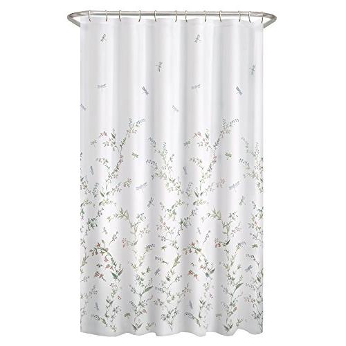 MAYTEX Dragonfly Sheer Shower Curtain