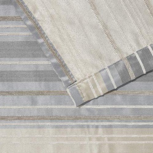 MAYTEX Jodie Chenille Fabric Shower 72X72