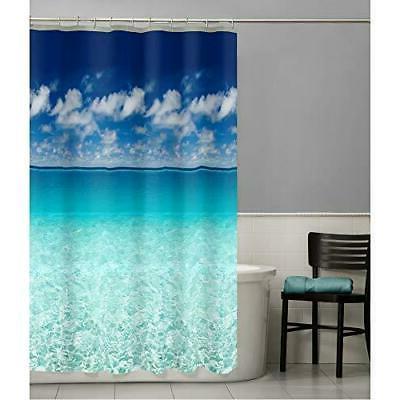 MAYTEX Photoreal Escape Waterproof PEVA Shower Curtain