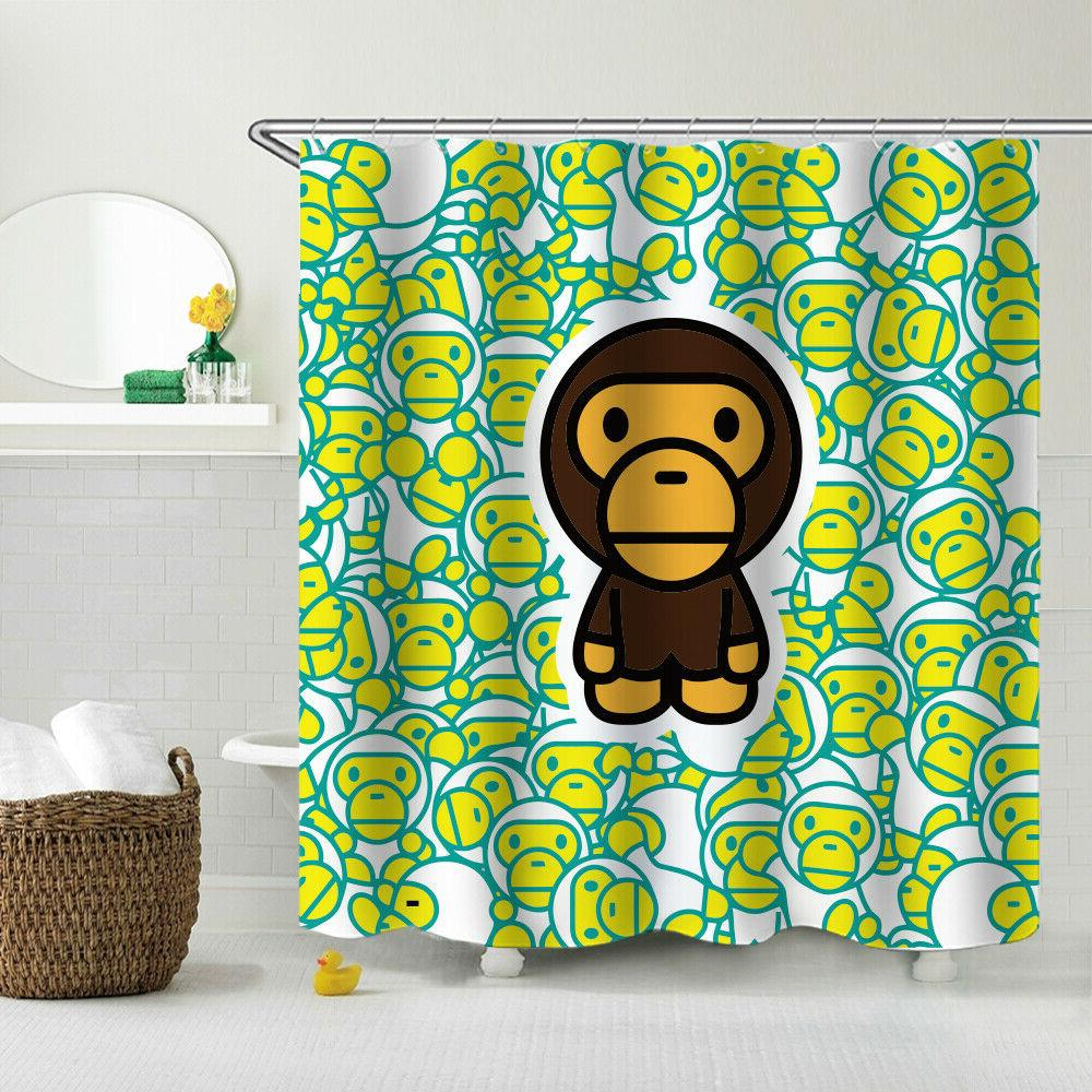 A Bathing Shower Curtain Fabric