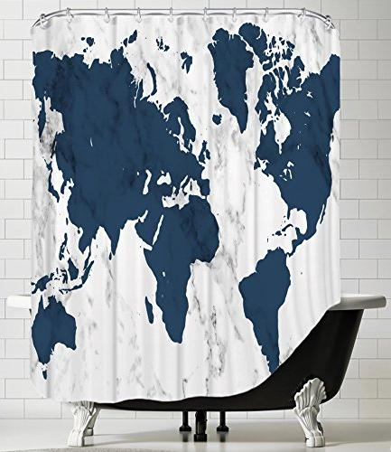 american flat shower curtain ranlet