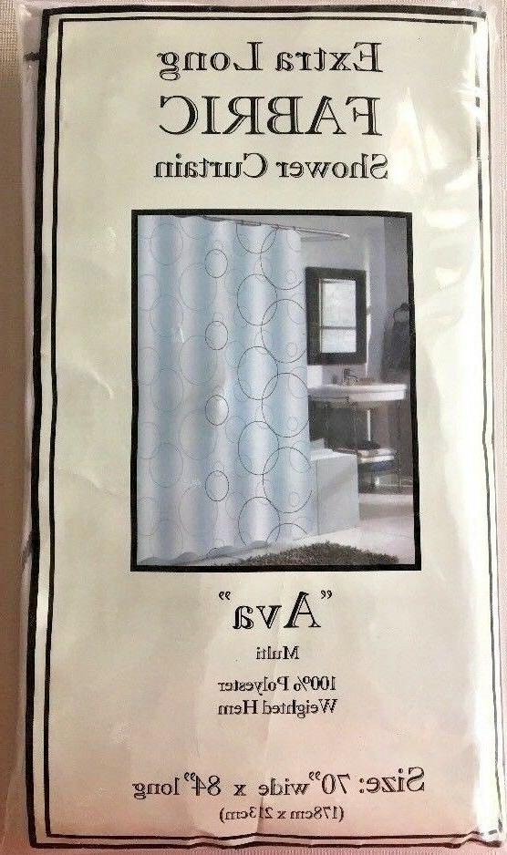 Ava Geometric, Shower Curtain, Adult,