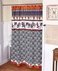 Aztec Southwestern Acoma Shower Curtain Mesa Santa Fe Flair