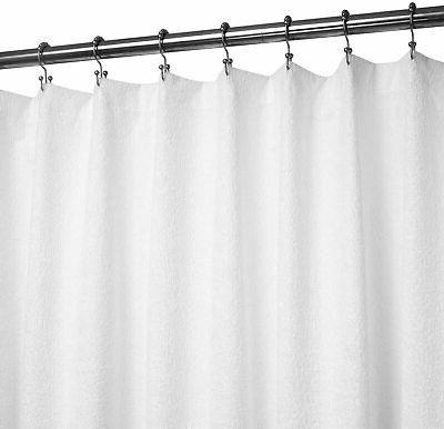 barossa design terry cloth shower curtain liner