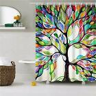 "Bathroom Fabric Colorful Shower Curtain 72""x72"" Tree of Life"