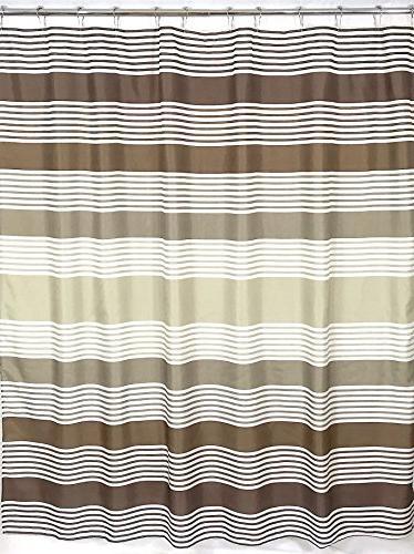 bathroom fabric shower curtain contemporary