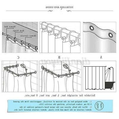 Bathroom Curtain Get Bath Rug