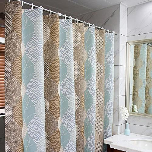 Ufaitheart Abstract Leaves Pattern Fashion Shower Stall x and