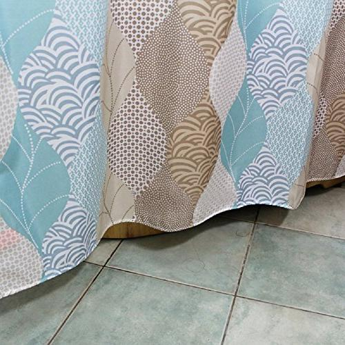 Ufaitheart Leaves Fashion Shower Curtain Stall Curtain 36 x 72 Bathroom and