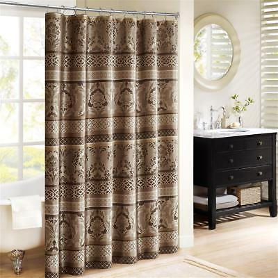 Madison Park Bellagio Jacquard Shower Curtain