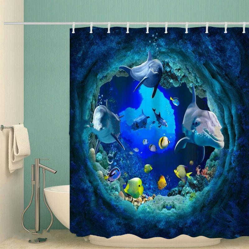 Blue Dolphin Sea Waterproof New Sock