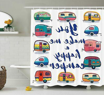 camper shower curtain by you make me