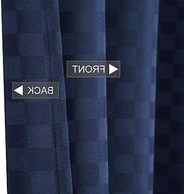 CAROMIO Extra Long Curtain Hotel Luxury 190GSM We
